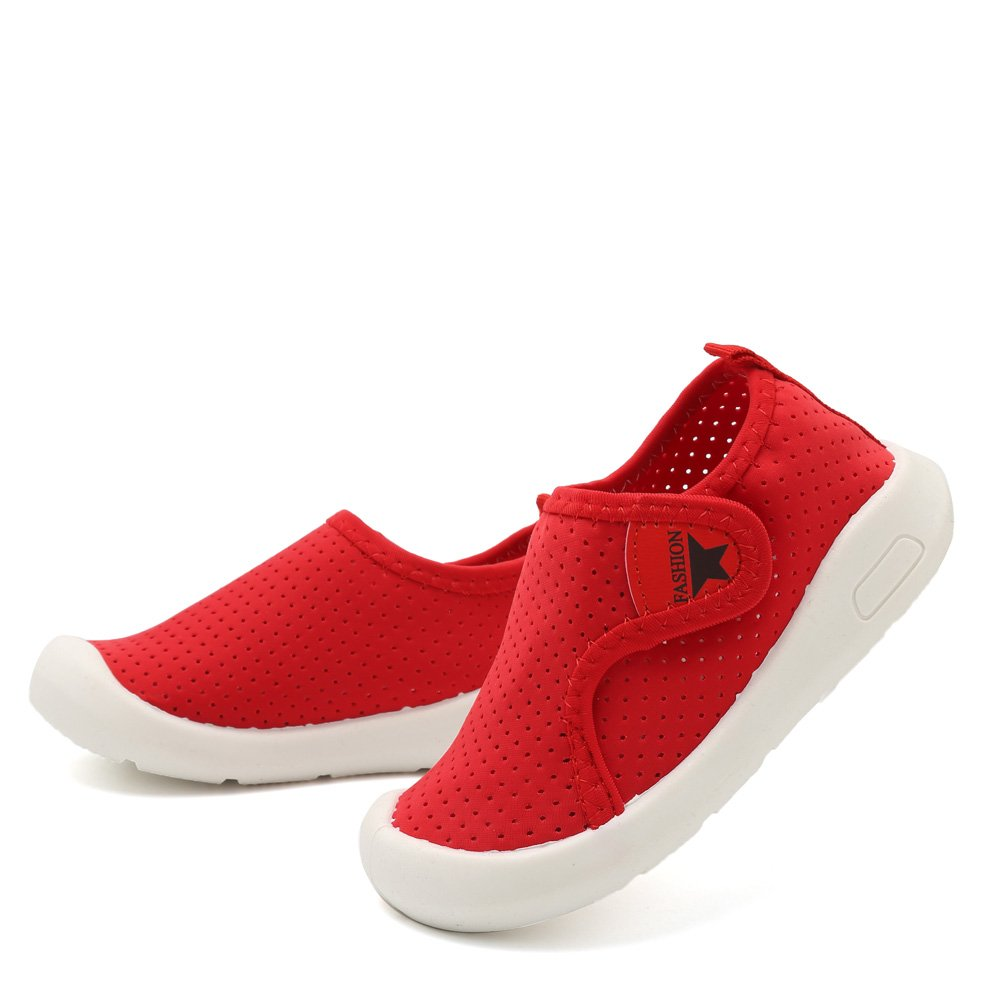 SC1588 D.Red 15 Toddler//Little Kid CIOR Kids Shoes Boys Girls Mesh Shoes Casual Breathable Sneakers Water Shoes for Walking Running Sport Pool Beach