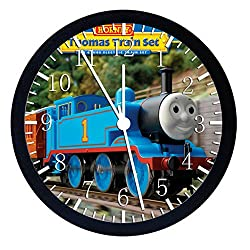Extra Large Size 14 Thomas Train Wall Clock Home Office Decor or Nice For Gift W68