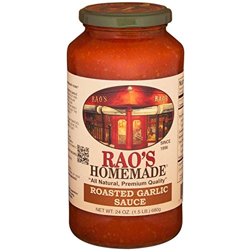 Rao's Homemade All Natural Roasted Garlic Sauce, 24 oz (Pack of 12) by Rao's Homemade