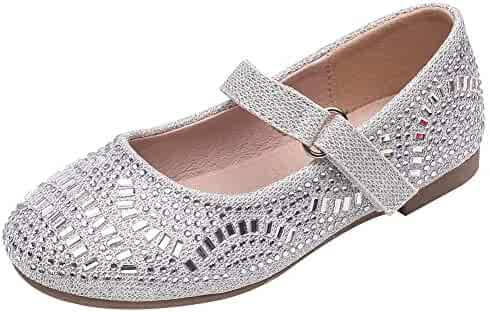 44060e86793a2 Shopping Buckle - White or Silver - Flats - Shoes - Girls - Clothing ...