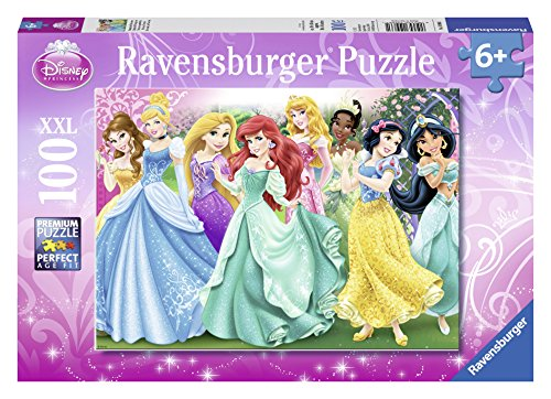 Ravensburger Disney Princess: Princess Portraits Puzzle (100 Piece) Disney Princess Portrait