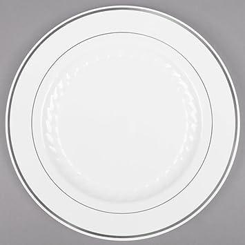 Masterpiece Silver Plates 7.5\u0026quot; ...  sc 1 st  Amazon.com & Amazon.com: Masterpiece Silver Plates 7.5\
