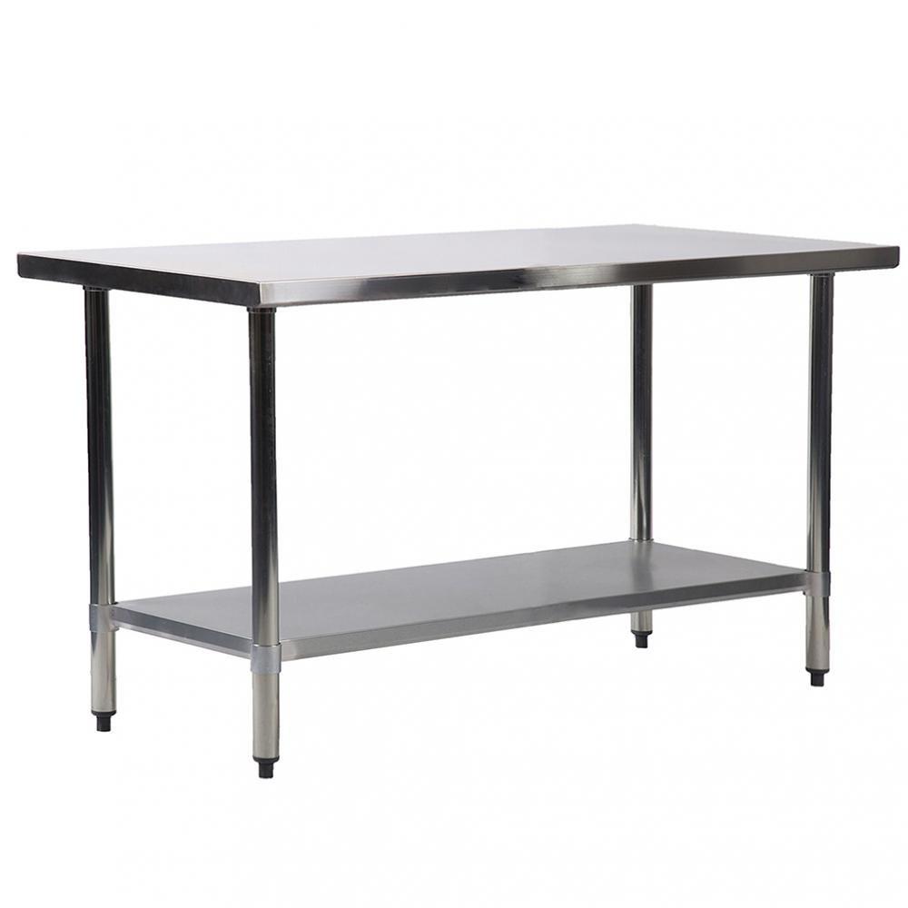 BestMassage 30''x60'' Stainless Steel Kitchen Work Table Commercial Kitchen Restaurant table