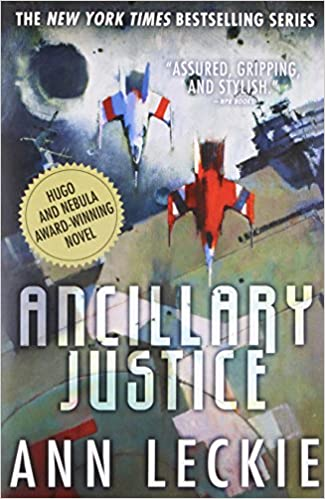 Image result for ancillary justice cover