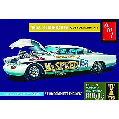 AMT USA 1/25 Scale 1953 Studebaker Starliner  #34;Mr Speed #34; Plastic Model Kit