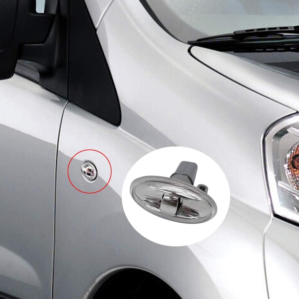 Fesjoy Indicateur de c/ôt/é Lampe de r/ép/éteur 6325G3 Fit pour Peugeot 108 107 206 1007 407 Partner feux de position lat/éraux