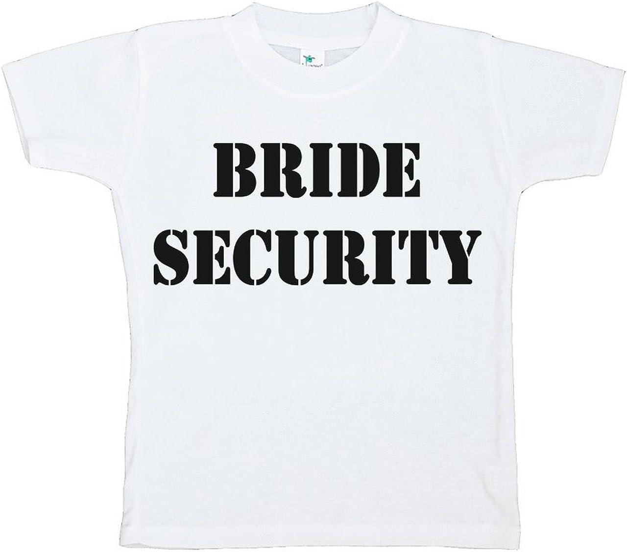 Custom Party Shop Toddler Boy's Bride Security Wedding T-Shirt