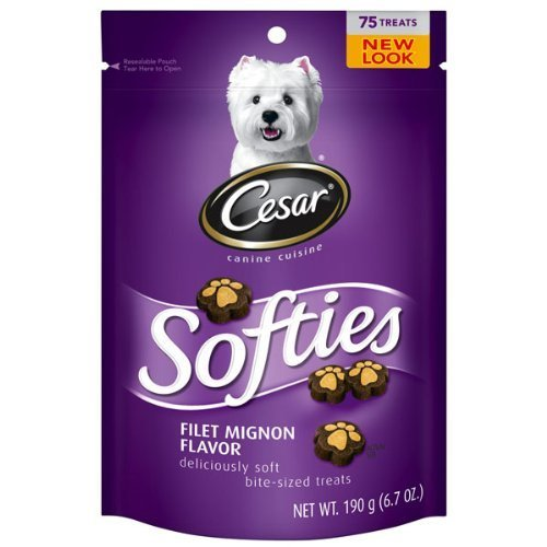 Cesar Softies Filet Mignon Flavor Dog Treat (4 Pack) by Mars Petcare