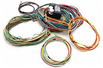 51D rTqKPkL._SX355_ amazon com keep it clean 110116 12 fuse 103 terminal wire panel keep it clean wiring harness review at eliteediting.co