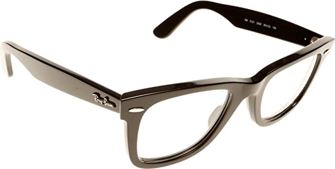 d4c92a3c14 Image Unavailable. Image not available for. Colour  New Original Eyewear  Ray Ban RB 5121 2000 Unisex Black Wayfarer Clear