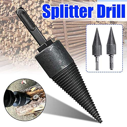Drillce Machine Drill Wood Cone Reamer Punch Driver Bit Split Drilling, Point Wood Splitter – Split Log Splitter, Tractor Wood Splitter, Log Splitters, Wood Splitter
