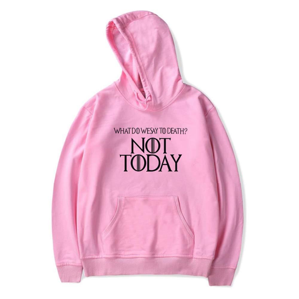 APaisix/Not Today Theme Game of Thrones Hoodie Casual Long Sleeve Pullover Sweatshirt Unisex Hoodie
