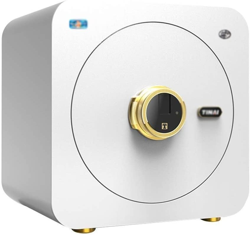 Wtbew-u 安全な組み合わせキー防火安全な耐火ボックス、セーフボックスの指紋安全な小さな安全現金セーフティボックス、ホームセーフ(サイズ:40 * 34 * 40 cm) (Color : C) C