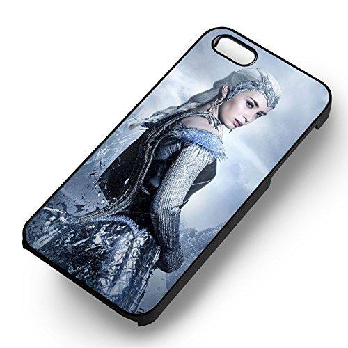 The Huntsman Ice Queen pour Coque Iphone 6 et Coque Iphone 6s Case (Noir Boîtier en plastique dur) U0Q1CM