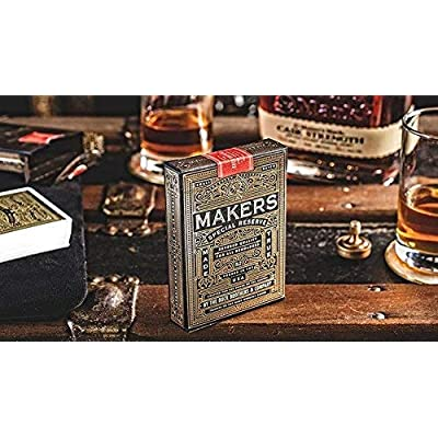 MAKERS Blacksmith Edition Playing Cards by Dan and Dave: Toys & Games