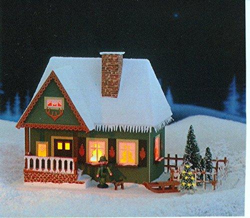 Lichterhaus Altes Forsthaus Ohne Beleuchteten Weihnachtsbaum