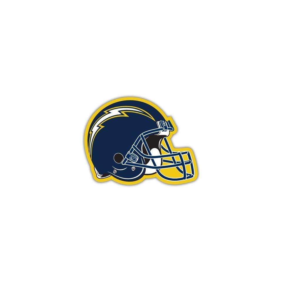 San Diego Chargers NFL Football bumper sticker 5 x 4