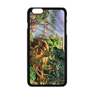 Creative Creative Dinosaurs Family Custom Protective Hard Phone Cae For Iphone 6 Plus