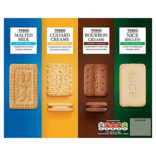 Tesco Biscuit Barrel Selection 700g
