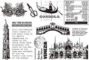 akaddy Clear Stamp Schneideschablonen f/ür Scrapbooking-Karten DIY , Leaves Cut Die Silikondichtungsset f/ür Scrapbooking-Stempel Schneidwerkzeuge + Siegel
