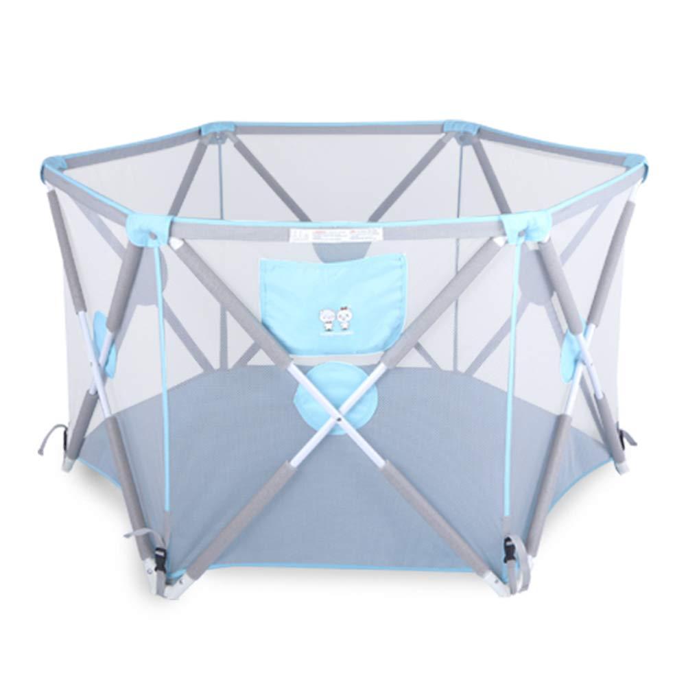 王様 ガードレール 子供の遊びフェンス赤ちゃんフェンス屋内赤ちゃんクロールマット幼児フェンスホーム折りたたみ   B07TWRJQKD
