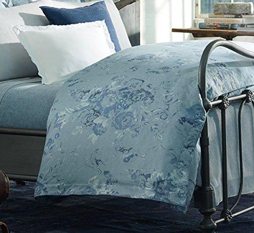 Ralph Lauren Home Indigo Montauk Floral Duvet Cover, Blue...