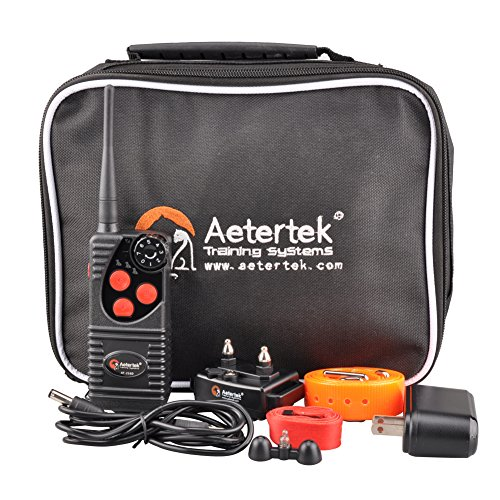 Aetertek AT-216W Updated 600 Yard Remote Control Pet Dog Trainer Training Beep Vibration Electric Shock Collar For 1 Dog Dog Bark Control Reviews
