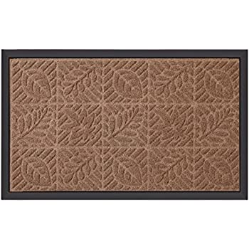 Amazon.com: Amagabeli Rubber Indoor Doormat Rustic Entrance ...