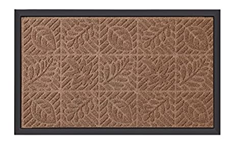 front door mats outdoorAmazoncom  Amagabeli Outside Shoe Mat Rubber Doormat for Front