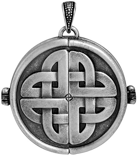 Celtic Locket Collectible Jewelry Accessory Tribal Medallion (Medallion Locket)