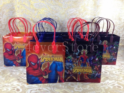 Spiderman Goodie Bags 24 Pieces