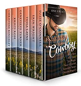 Kiss Me Again Cowboy: A Limited Edition Fundraiser Box Set for Veterans by [Layne, Tessa, O'Connell, Suzie, Wright, Erin, Rose, Kristi, Turner, Genevieve, Kingsley, Christine]