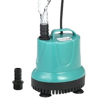 Decdeal - Mini Bomba de Agua Sumergible para Pecera y Acuario Sistemas Hidropónicas, 2 Boquillas, 2000L/H 35W/25W Opcional: Amazon.es: Productos para ...