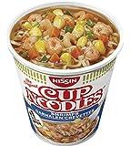 Nissin Cup Noodles Shrimps, 4er Pack (4 x 63 g Becher)