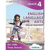Lumos Skills Mastery tedBook - 4th Grade English Language Arts: Standards-based ELA practice workbook