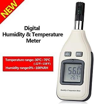 GoerTek Digital Humidity and Temperature Meter Monitor
