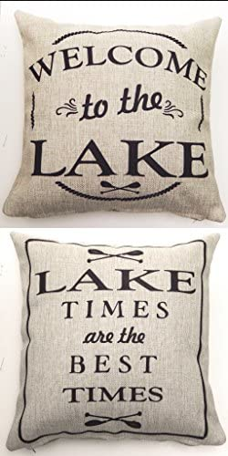 Evelyn Hope Collection Welcome to The Lake in Black
