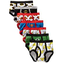 Handcraft boys Toddler Boys 7-pack Justice League Logo Brief