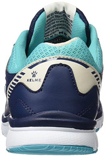 Kelme Seatle Flat 4.0, Zapatillas para Mujer Azul (Indigo)