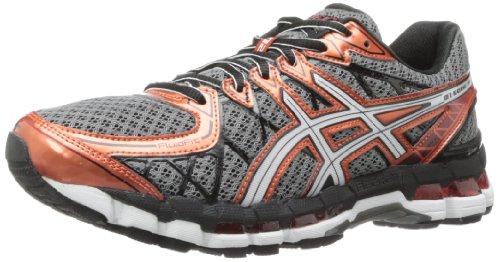 Men's Gel-Kayano 20 Running Shoe,Storm/White/Rust,11 M US