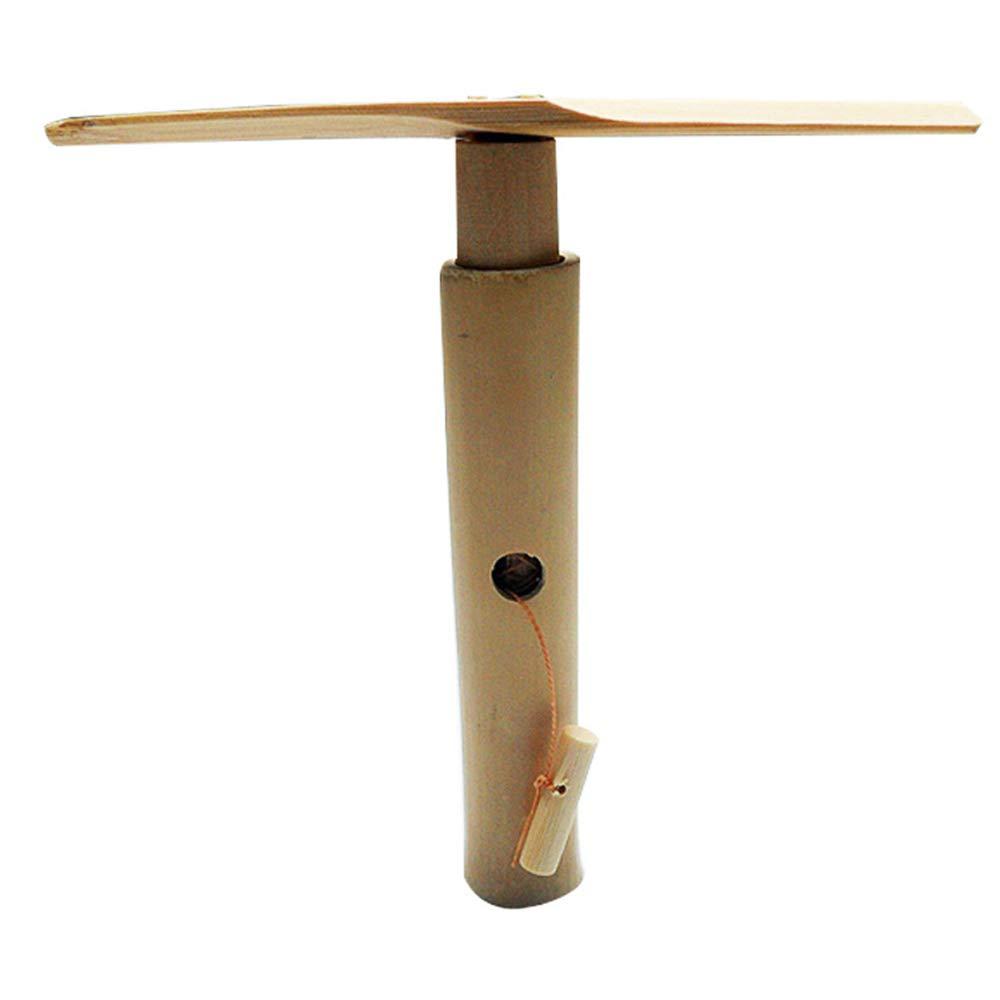 AHMI Holz aus Bambus Libelle Auto Fly von Zugseil Libelle Spielzeug Interessantes Spielzeug f/ür Kinder Kinder Geschenk Ideal