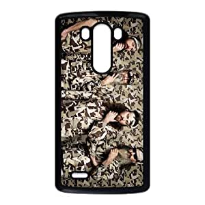 Happy Happy Happy Camouflage Duck Dynasty LG G3 Cell Phone Case Black kvtj