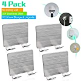 Razor Holder for Shower,4Pack Waterproof Self Adhesive Wall...