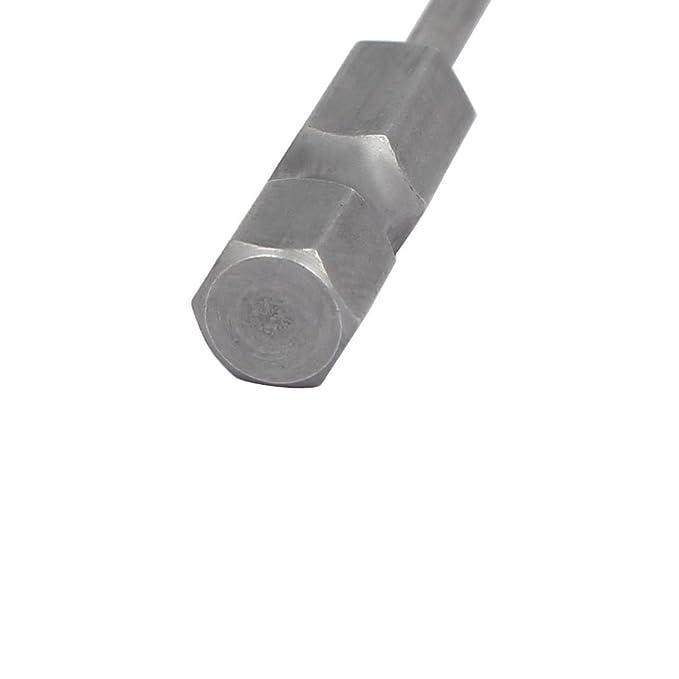 eDealMax cuarto vástago hexagonal T6 magnética punta de acero S2 Torx puntas de destornillador 50 mm de distancia 10pcs