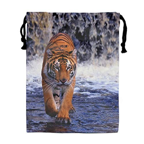 Price comparison product image Tigerofbengal Unisex Drawstring Bag Travel Sports Bag Drawstring Beam Port Bag