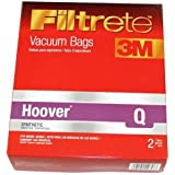 8 HOOVER PLATINUM Q VACUUM BAGS FOR PLATINUM UPRIGHT VACUUMS