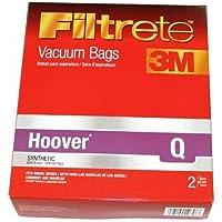 8 HOOVER PLATINUM Q VACUUM BAGS FOR PLATINUM UPRIGHT VACUUMS