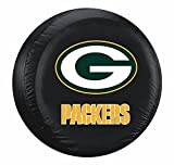 green bay packer tire cover - Green Bay Packers Black Tire Cover - Size Large - Licensed NFL Football Merchandise