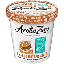 Arctic Zero Fit Frozen Desserts, Peanut Butter Swirl, 16 Ounce (Pack of 6)