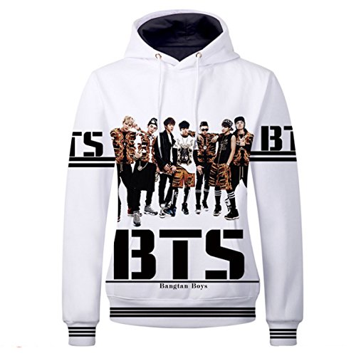 JUNG KOOK Kpop BTS GOT7 NCT Pullover Hoodie Jimin SUGA Jackson Bambam Sweater